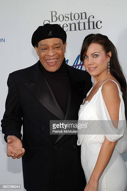 Al Jarreau and Cassandra Mann attend The Alfred Mann Foundation's 2nd Annual 'Evening of Innovation Inspiration' Honoring Larry King Hosted by Ryan...