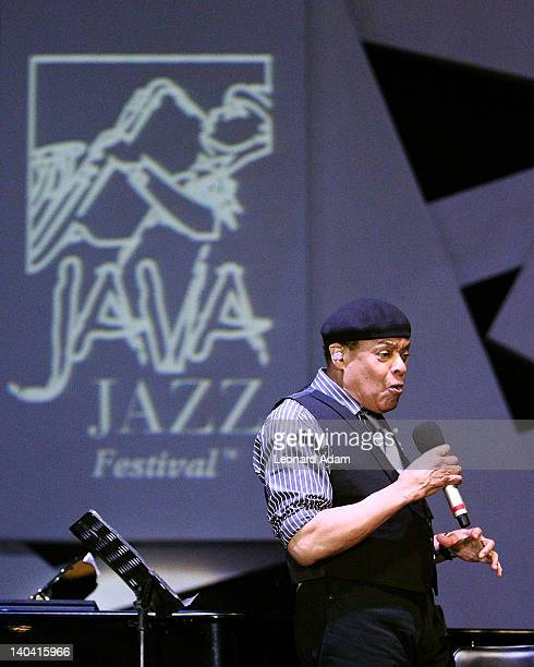 Al Jarreau performs on stage during the Java Jazz Festival on March 2 2012 in Jakarta Indonesia