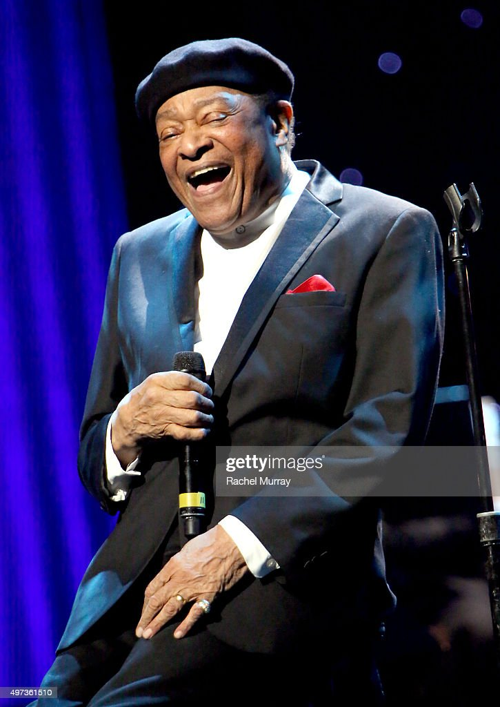 Al Jarreau performs onstage during the Thelonious Monk Institute International Jazz Vocals Competition 2015 at Dolby Theatre on November 15, 2015 in Hollywood, California.