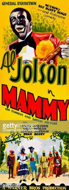Al Jolson in Mammy is an alltalking 1930 musical drama with Technicolor