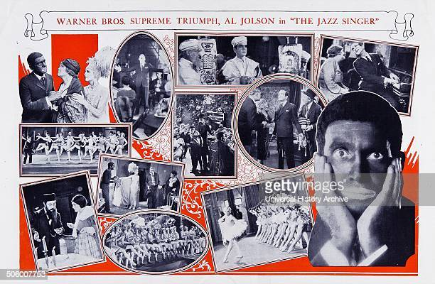 Al Jolson in The Jazz Singer a 1927 American musical film