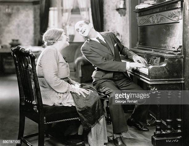 Al Jolson Playing the Piano in The Jazz Singer 1927