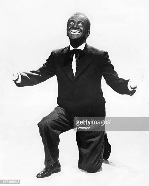 Al Jolson principally a vaudeville minstrel singer starred in Warner Studio's first talking picture The Jazz Singer in 1927