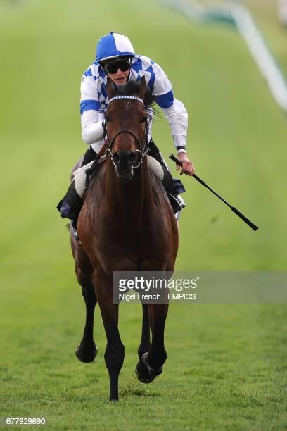 Al Kazeem ridden by James Doyle wins The Qatar Bloodstock Jockey Club Stakes
