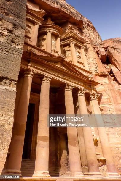 Al Khazneh (The Treasury), Petra, Jordan.