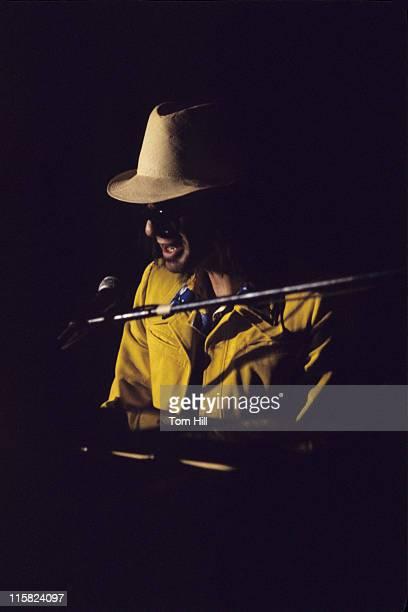 Al Kooper performing at the piano during Al Kooper Plays With Kris Kristofferson and Friends at Atlanta Municipal Auditorium April 29 1973 at Atlanta...
