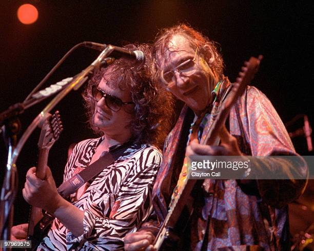 Al Kooper performing live with Joe Walsh at the Warfield Theater in San Francisco on September 06 1991