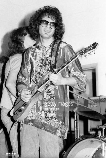Al Kooper performs at the Knight's Bridge club on March 12 1978 in San Rafael California