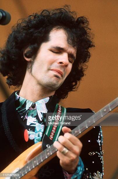 Al Kooper performs on stage at Reading Festival 25th June 1971