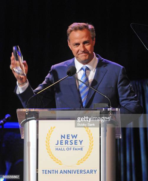 Al Leiter attends the 2018 New Jersey Hall Of Fame Induction Ceremony at Asbury Park Convention Center on May 6 2018 in Asbury Park New Jersey