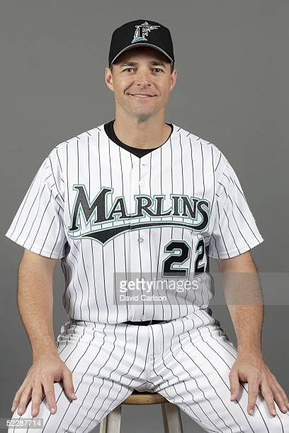Al Leiter of the Florida Marlins poses for a portrait during photo day at Roger Dean Stadium on February 26 2005 in Jupiter Florida