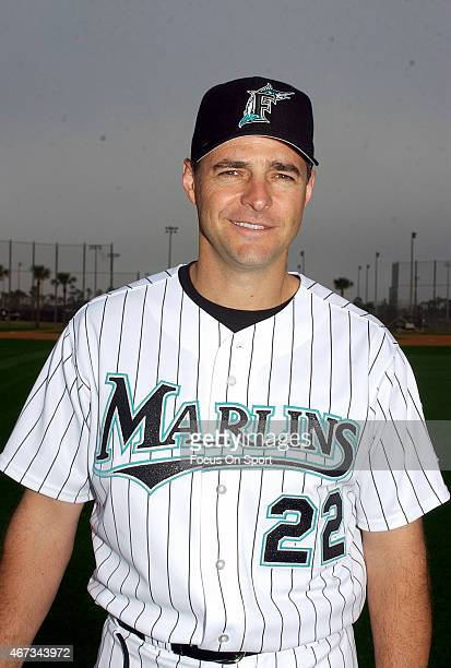 Al Leiter of the Florida Marlins poses for this portrait during Major League Baseball spring training February 26 2005 at Roger Dean Stadium in...