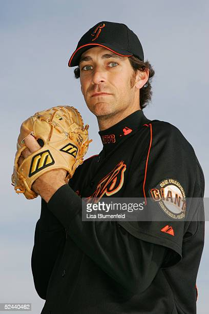 Al Levine of the San Francisco Giants poses for a portrait during the San Francisco Giants Photo Day at Scottsdale Stadium on March 2, 2005 in...