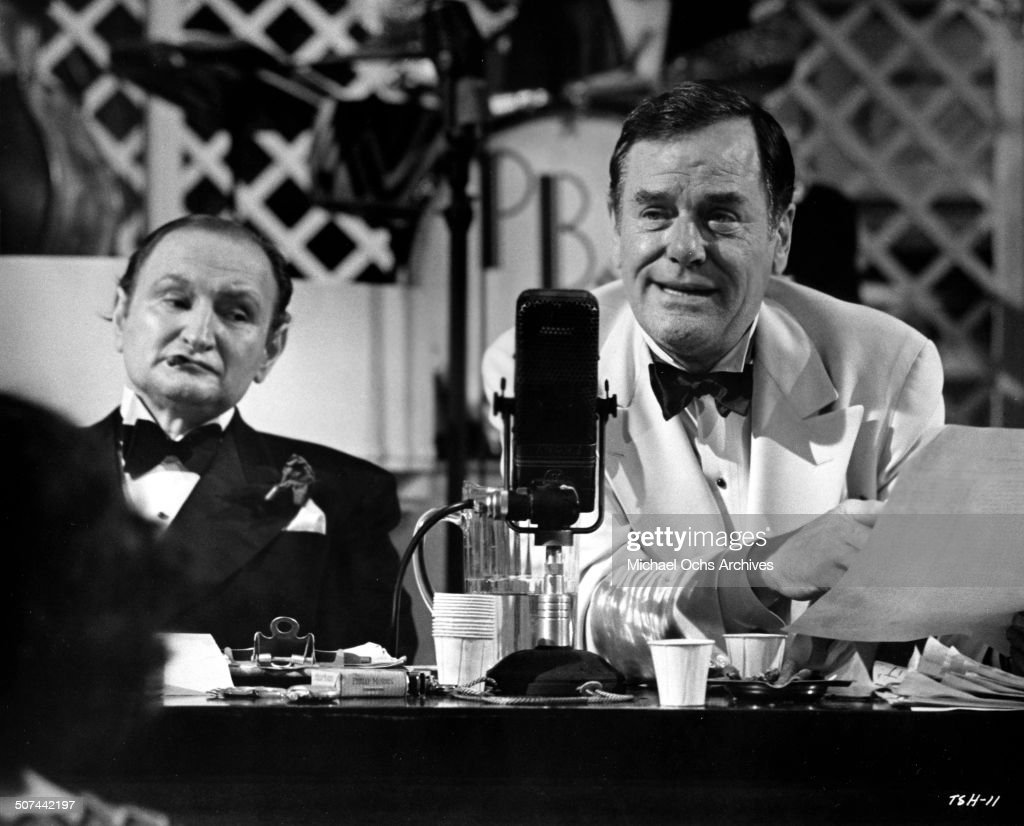 Al Lewis and Gig Young lead the marathon in a scene from the movie 'They Shoot Horses, Don't They?' , circa 1969.
