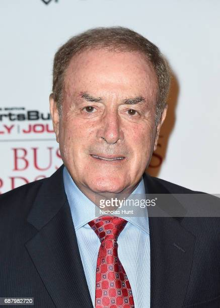 Al Michaels Attends the 10th Annual Sports Business Awards at The New York Marriott Marquis on May 24 2017 in New York City