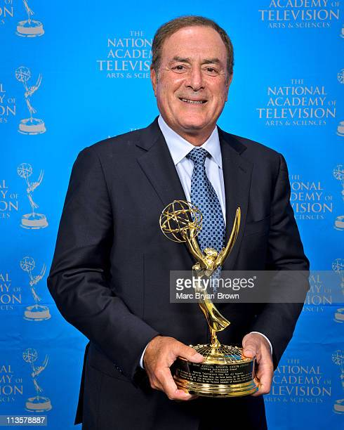 Al Michaels attends the 32nd annual Sport Emmy Awards at Frederick P Rose Hall Jazz at Lincoln Center on May 2 2011 in New York City