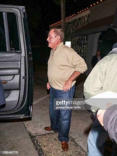 Al Michaels is seen on January 19 2019 in Los Angeles California