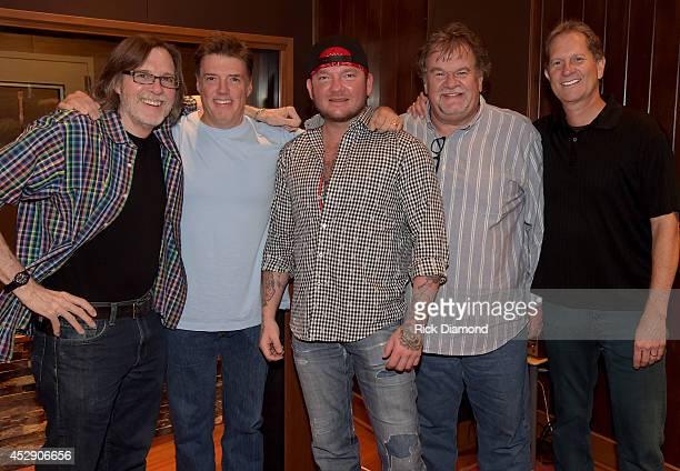 Al Moss Al Moss Promotion Producer Frank Liddell Singer/Songwriter Stoney Larue President eOne Music Nashville Mike Olsen and VP of Music eOne Music...