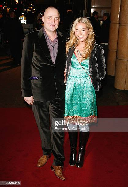Al Murray and guest attend The Bucket List film premiere held at the Vue West End on January 23 2008 in London England
