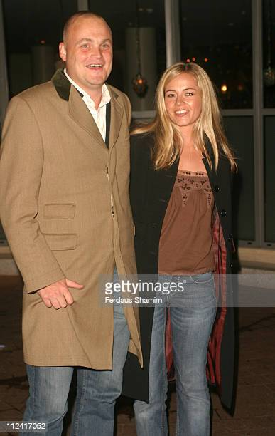 Al Murray and guest during Team America Celebrity Screening at Soho Hotel in London England Great Britain