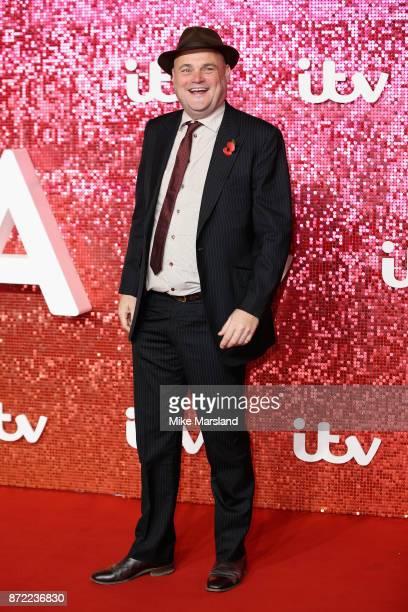 Al Murray arrives at the ITV Gala held at the London Palladium on November 9 2017 in London England