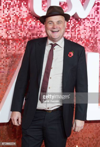 Al Murray arriving at the ITV Gala held at the London Palladium on November 9 2017 in London England