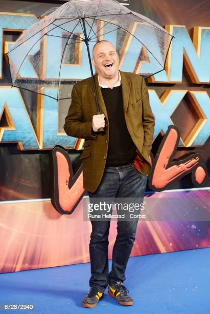 Al Murray attends the European Gala Screening of Guardians of the Galaxy Vol 2 at Eventim Apollo on April 24 2017 in London United Kingdom