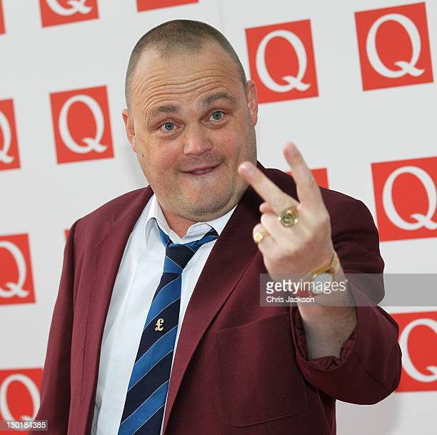 Al Murray attends the Q awards at The Grosvenor House Hotel on October 24 2011 in London England