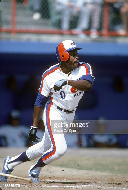 Al Oliver of the Montreal Expos bats during an Major League Baseball spring training game circa 1983 Oliver played for the Expos from 198283