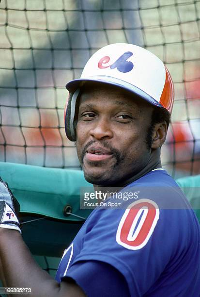 Al Oliver of the Montreal Expos looks on during batting practice before a Major League Baseball circa 1983 Oliver played for the Expos from 198283