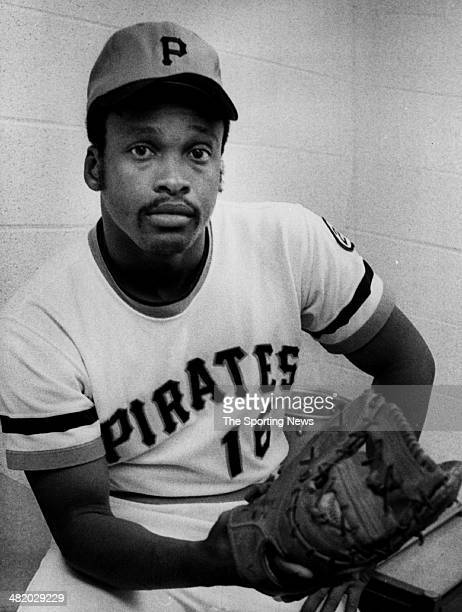 Al Oliver of the Pittsburgh Pirates poses for a photo circa 1970s