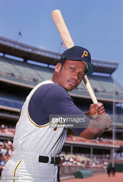 Al Oliver of the Pittsburgh Pirates poses for an action portrait Al Oliver played for the Pirates from 19681977