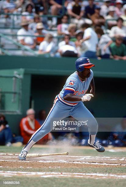 Al Oliver of the Texas Rangers bats during an Major League Baseball game circa 1980 Oliver played for the Rangers from 197881