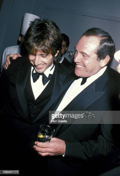 Al Pacino and Alan King during American Museum of The Moving Image Salutes Sidney Lumet at Waldorf Astoria Hotel in New York City New York United...