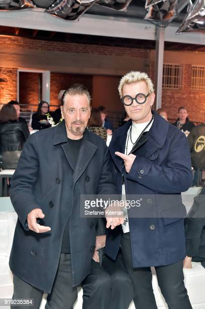 Al Pacino and Billy Idol attend Mr Chow 50 Years on February 16 2018 in Vernon California