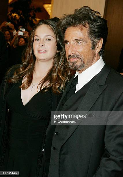 Al Pacino and daughter Julie Pacino during 20th Annual American Cinematheque Award Honoring Al Pacino at Beverly Hilton Hotel in Beverly Hills...