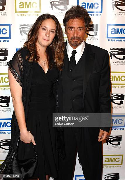 Al Pacino and daughter Julie