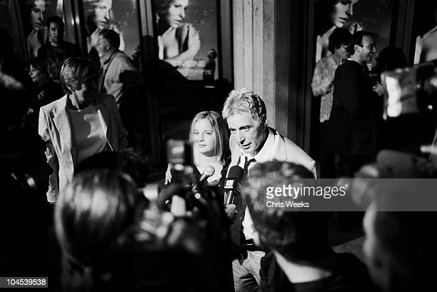 Al Pacino and his daughter are interviewed by the media