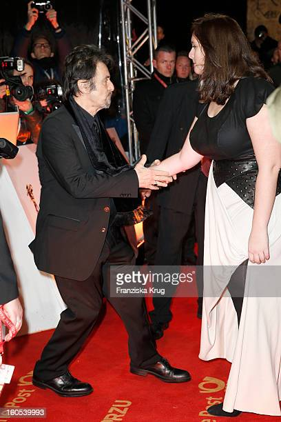 Al Pacino and his daughter Julie Marie Pacino attend the 'Goldene Kamera 2013' on February 2 2013 in Berlin Germany