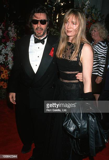 Al Pacino and Lyndall Hobbs during 66th Annual Academy Awards at Dorothy Chandler Pavillion in Los Angeles CA United States