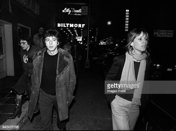 Al Pacino and Marthe Keller circa 1977 in New York City