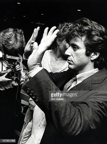Al Pacino and Marthe Keller during Actor's Studio 1978 'Struttin'' Masked Ball at The Roseland in New York City New York United States