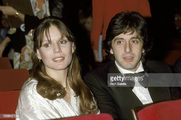 Al Pacino and Marthe Keller during AFI Institue 10th Anniversary Gala rehearsals at Kennedy Center in Washington DC New York United States