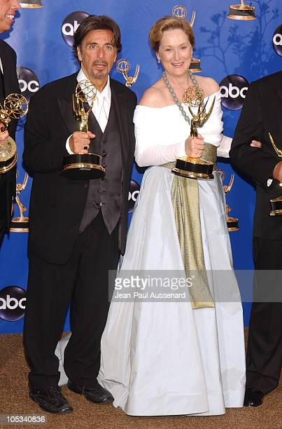 Al Pacino and Meryl Streep winners of Outstanding Lead Actor in a Miniseries or a Movie Outstanding Lead Actress in a Miniseries or a Movie 'Angels...