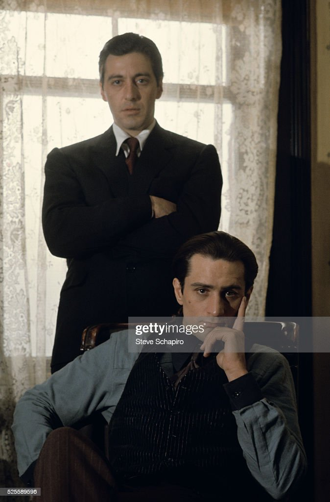 Al Pacino and Robert De Niro in The Godfather: Part II.