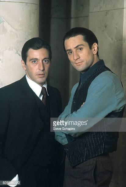 Al Pacino and Robert De Niro in The Godfather Part II