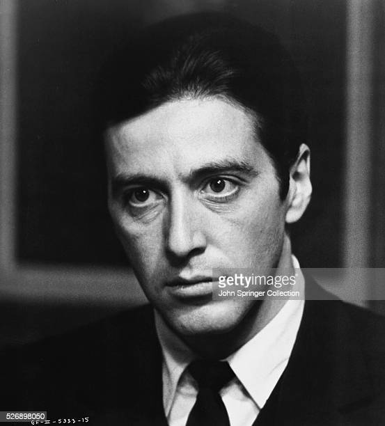 Al Pacino as Michael Corleone in Francis Ford Coppola's The Godfather, Part II.