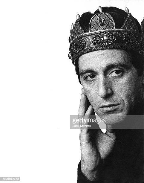 """Al Pacino as """"Richard III"""", 1979. Photo by Jack Mitchell/Getty Images."""