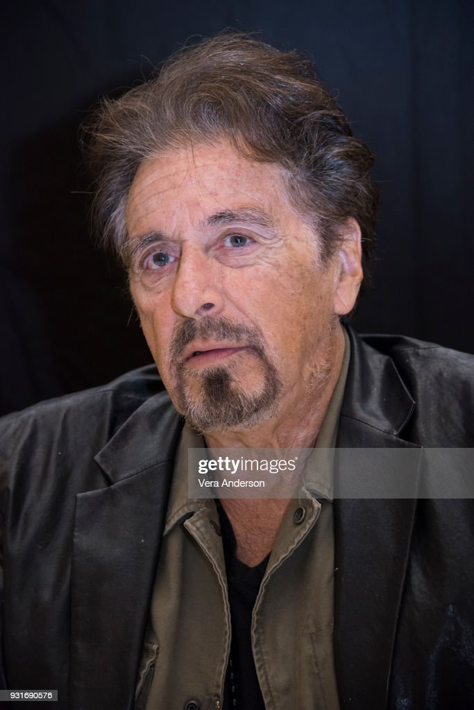 Al Pacino at the 'Paterno' Press Conference at the Montage Hotel on March 13, 2018 in Beverly Hills, California.