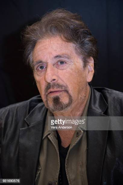 Al Pacino at the Paterno Press Conference at the Montage Hotel on March 13 2018 in Beverly Hills California